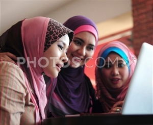 A Trio Of Islamic Women