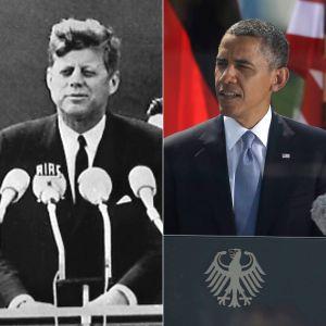 Kennedy Versus Obama